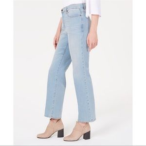 Eileen Fisher Petite Ice Blue Ankle Jeans 4P New